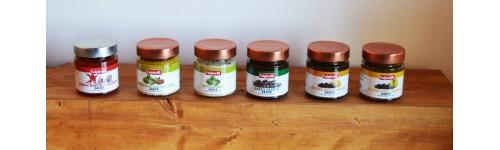 Salse in olio extravergine di oliva